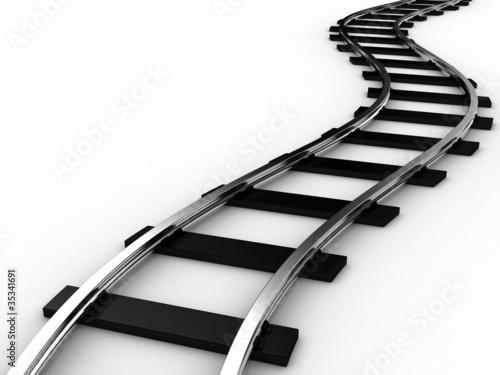 Fotografía  The railway