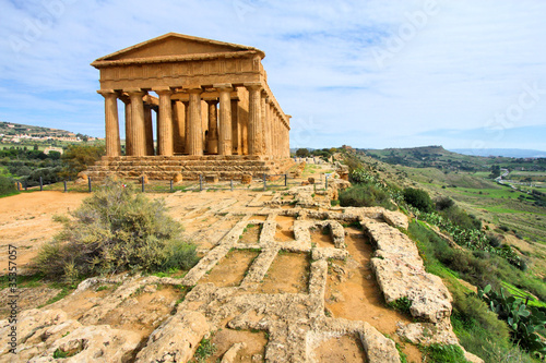 Canvastavla Agrigento - Greek temple