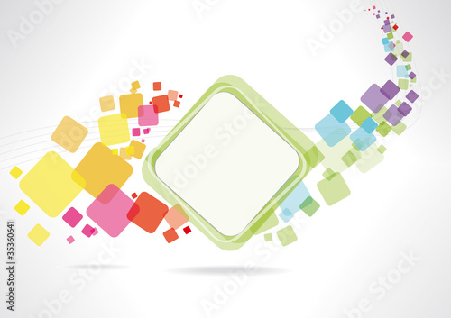Fotografering  Multicolor abstract