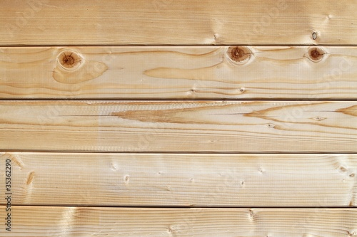 Fotografia, Obraz Madriers en bois blanc