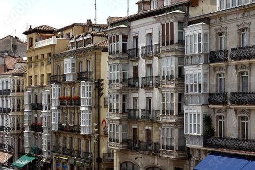 Vitoria Gasteiz La piazza principale