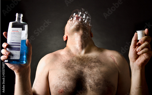 Fotografering  Mundspülung