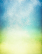 Misty Yellow Green Gradient