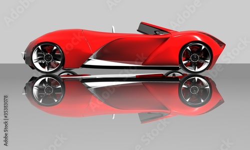 Photo Stands Fast cars sportcar