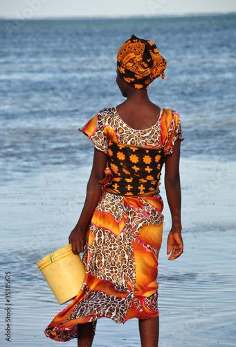 Staande foto Afrika donna zanzibarina