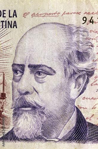 Poster Croquis dessinés à la main des animaux Julio Argentino Roca