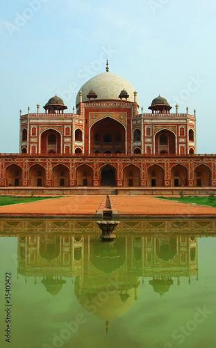 Foto op Canvas Delhi Humayun's Tomb façade