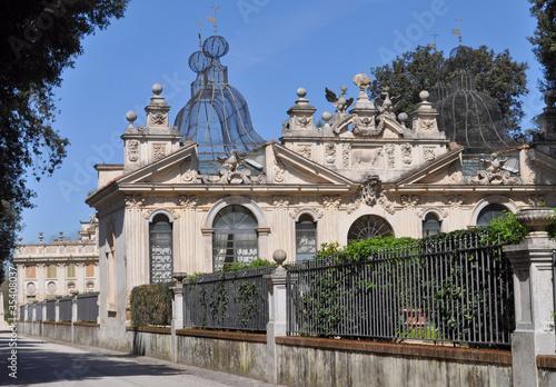 Fotobehang Villa Borghese, Rome
