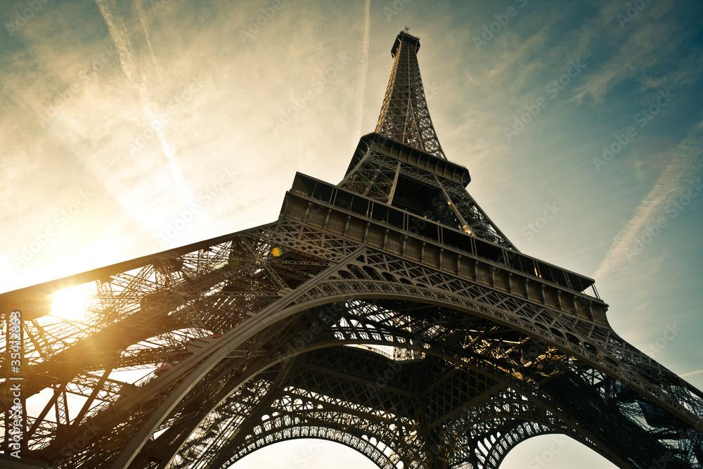 Fototapeta Tour Eiffel Paris France - obraz na płótnie