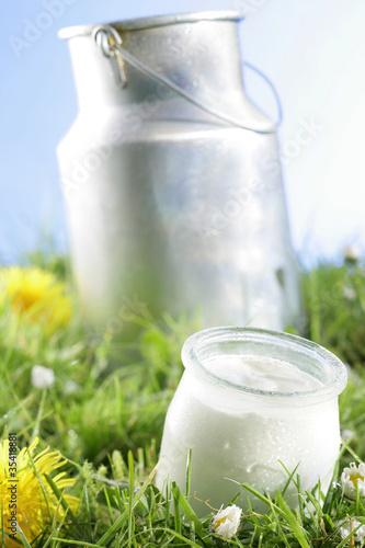 Staande foto Zuivelproducten Produits laitiers - Fraîcheur