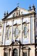church with azulejos (tiles), Porto, Portugal