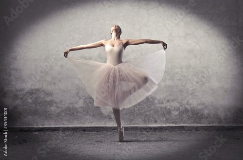 Fotografie, Tablou  Classic ballerina