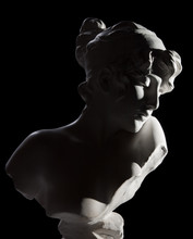 Antique Bust Sculpture Of Sapho