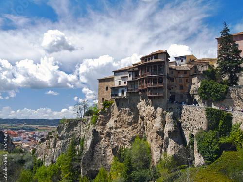 Casas Colgadas de Cuenca,españa