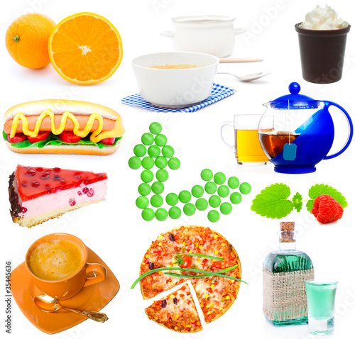 Assortment of food © motorolka