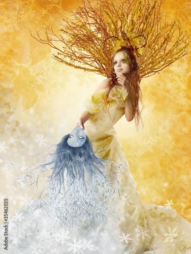 kwiecista-jesien-kobieta-z-zimy-maska-zmiana-se