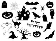 Set Of Halloween Items