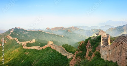 Poster de jardin Chine Great Wall of China