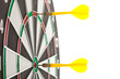 Yellow darts
