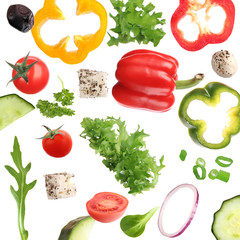 FototapetaFresh vegetable background