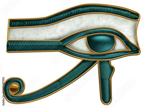 Egyptian Eye of Horus Canvas Print