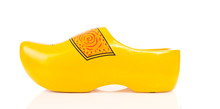 Dutch Yellow Wooden Shoe Over ...