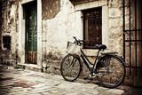 Rower z torbą na zakupy - 35512893