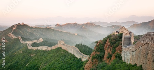 Photo sur Toile Muraille de Chine Great Wall of China