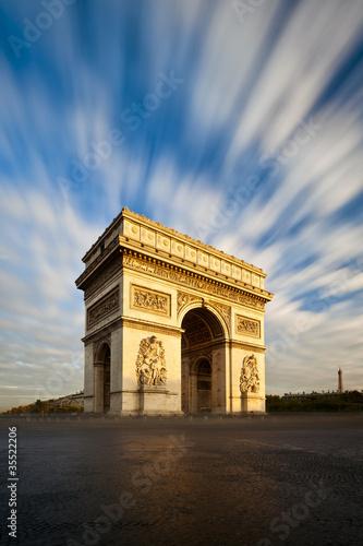 Photo Arc de Triomphe Champs Elysées Paris France