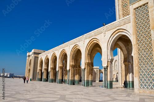 Hassan II Mosque Casablanca detail