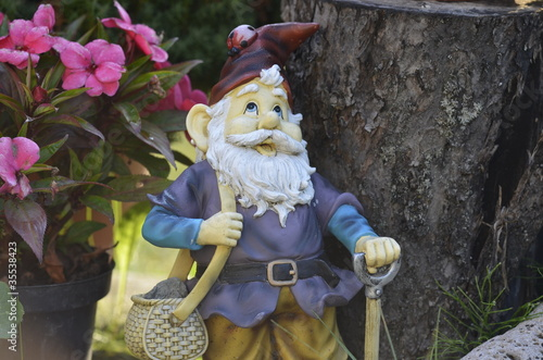 Photo Stands Fairies and elves Garden - Gnome