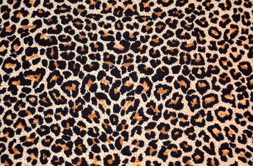 Fototapetaabstract texture of leopard fur (skin)