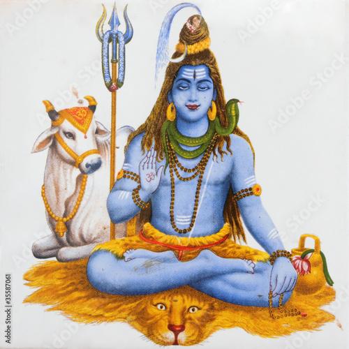 Fototapeta image of Shiva