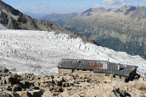 Fotografia, Obraz  Le Refuge Albert 1er à 2701 m