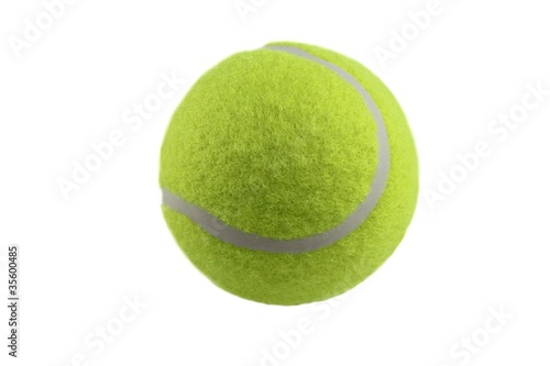 In de dag Bol Tennis ball isolated on white background