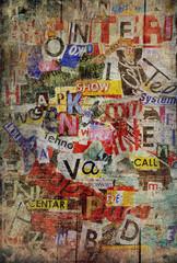 Panel Szklany Na drzwi Grunge textured background