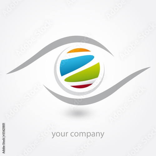 logo, z, optique, opticien, diagnostic Canvas Print