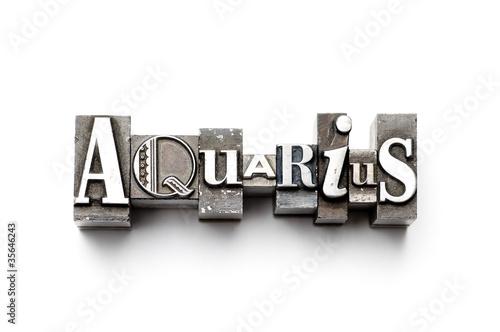 Photo  Aquarius Zodiac Sign