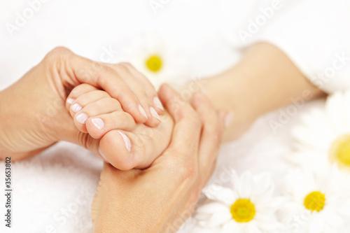 Fotografie, Obraz  Foot massage