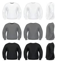 Realistic Men's Sweater - Swea...