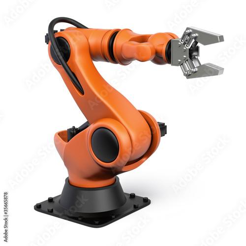 Photo  Industrial robot