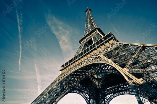 Fototapeta Tour Eiffel Paris France obraz na płótnie
