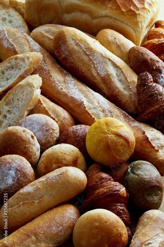 Foto op Plexiglas Bakkerij パン