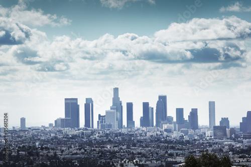 Etiqueta engomada - Los Angeles, California