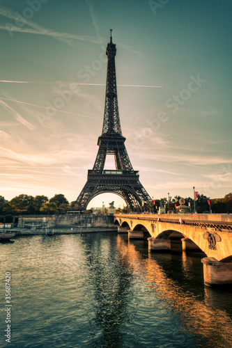Tour Eiffel Paris France #35687420