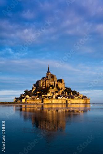 Le Mont Saint Michel, France Fotobehang