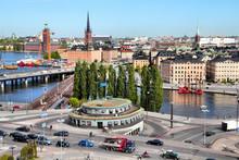 Stockholm - Famous Slussen Cro...