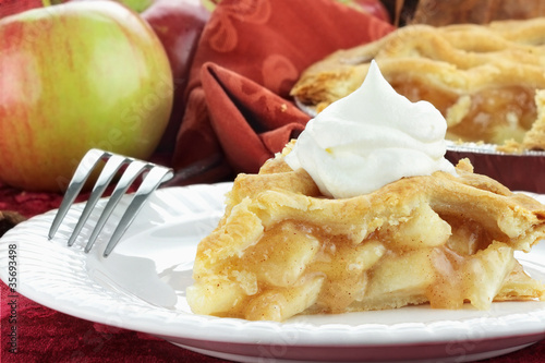 Fotografia, Obraz  Slice of Apple Pie