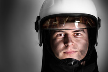Courageous Fireman