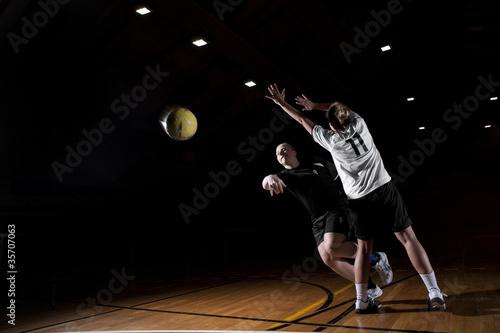 Foto-Schmutzfangmatte - Handball_01 (von okram86)